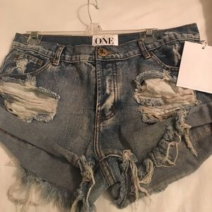 NWT One Teaspoon 1969 Bandits Size 29